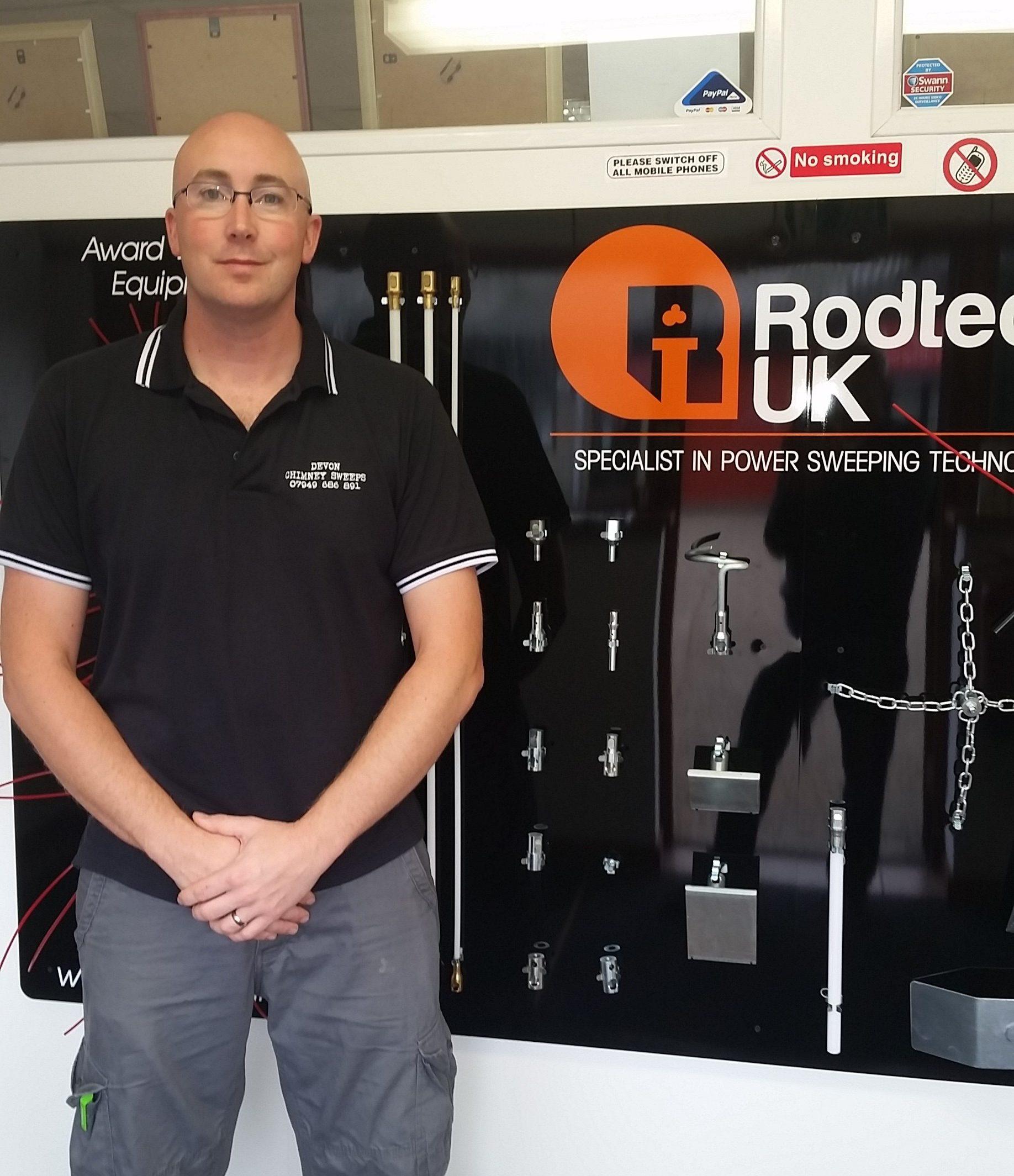 Devon Chimney Sweeps at Rodtech Training Center