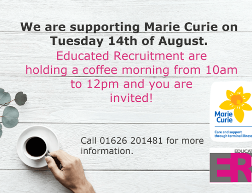 Coffee Morning for Marie Curie with Educated Recruitment