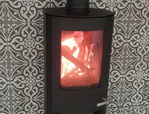 Lovely Tiled Feature Fireplace